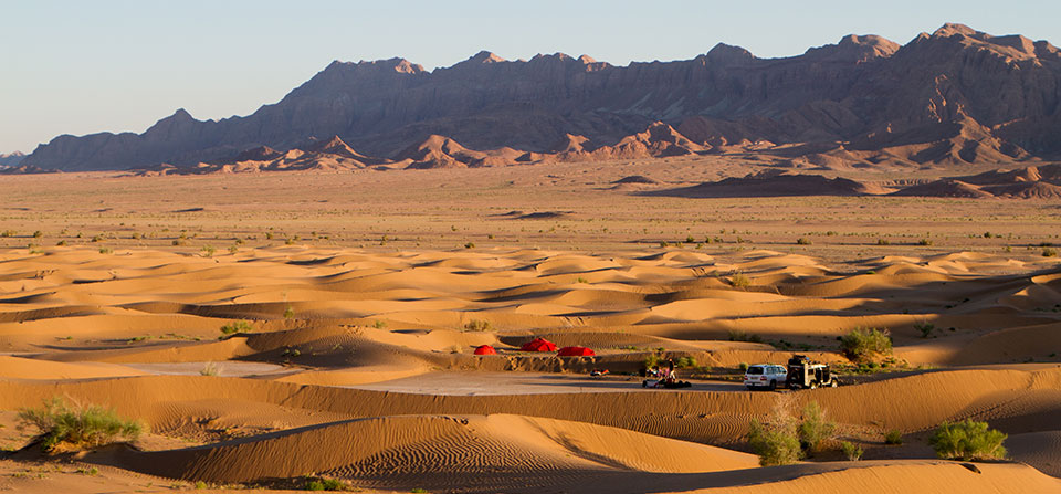 Through the Deserts of Eastern Persia
